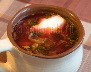 Супы, борщи
