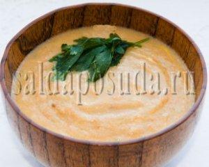 Суп - пюре из тыквы с сельдереем