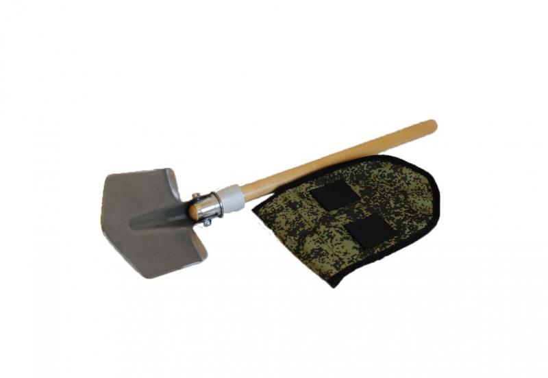 Лопата титановая складная с чехлом
