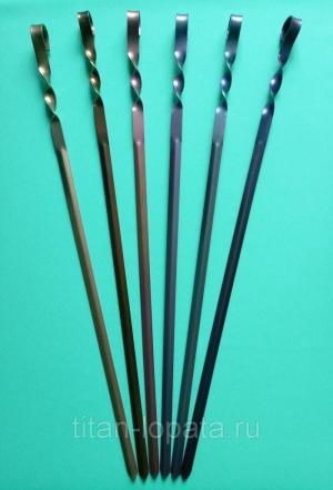 набор титановый шмпуров 6 штук длина 540 мм в чехле