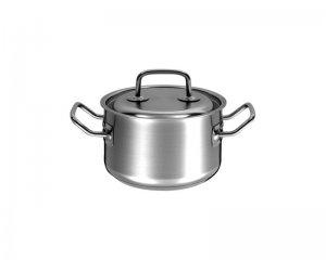 Кастрюля 1.5л. Гурман - Профи из нержавеющей стали с тройным дном