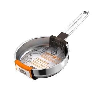Сковорода 160мм Гурман - Классик из нержавеющей стали с тройным дном, без крышки
