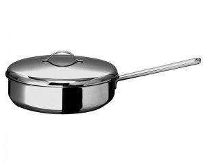 Сковорода 240мм Гурман - Классик из нержавеющей стали с тройным дном